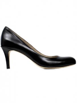 La Vegan Zapatos de los Tribunales de la Ciudad de escote