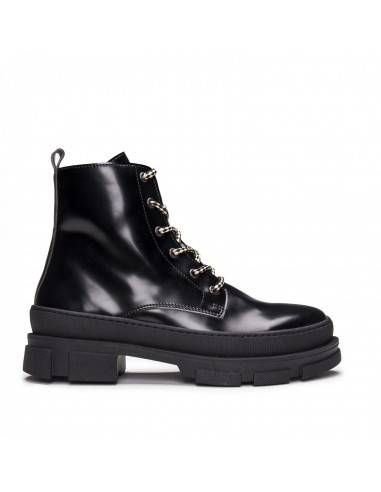 Vegan Lace-up Boot for Woman with...