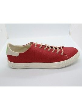 Vave Shoes - Luca Red Natural sneakers