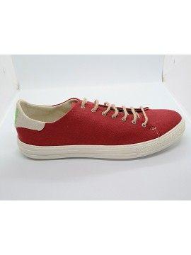 Vave Zapatos - Luca Rojo Natural de zapatillas de deporte
