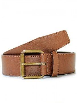 Will's Vegan Shoes - Man Jeans Belt 4 cm cintura (castagno)