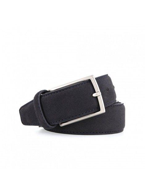 Noah Vegan Shoes - Belt (suede-blue)