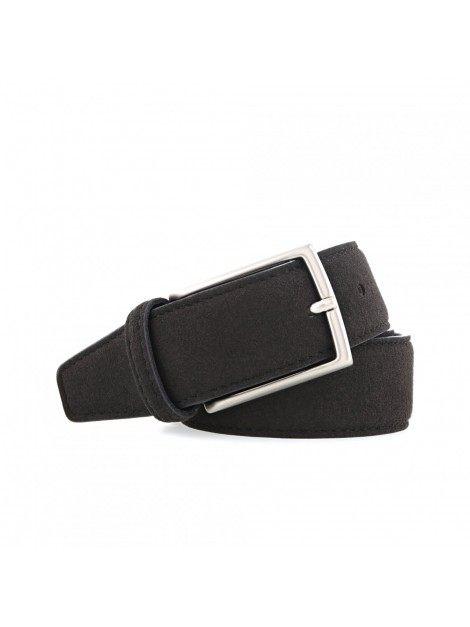 Noah Vegan Shoes - Belt (suede-black)