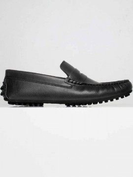 Will's Vegan Shoes - Driving Loafers (nere)